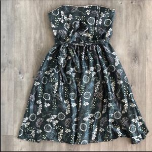 Anthropologie Coreylynncalter Silk Butterfly Dress